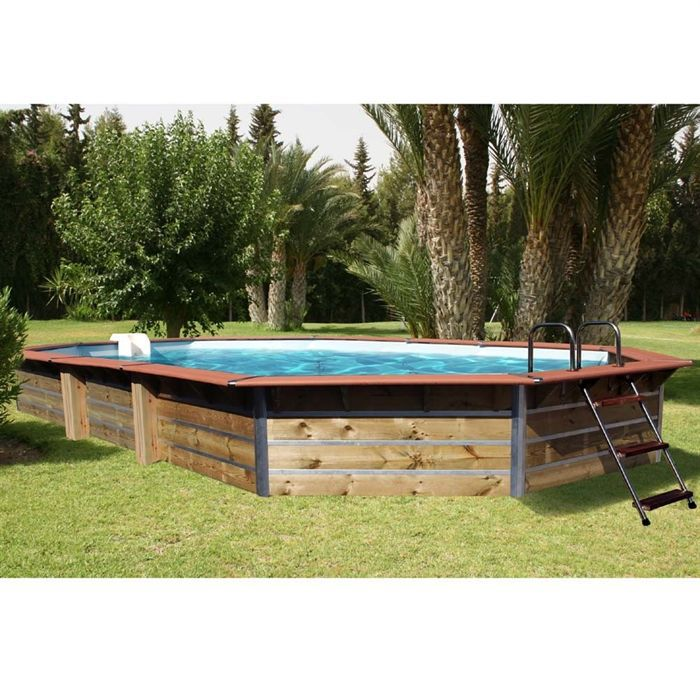 Cristaline piscine evolux classic octogonale l 6 8 achat for Piscine evolux