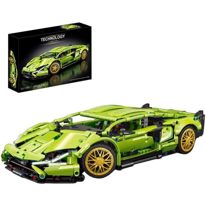 Technique Voiture de Sport pour Lamborghini Sián1268 Pièces Blocs de Construction Modèle Voiture de Course à Construire1:14 Jeu de