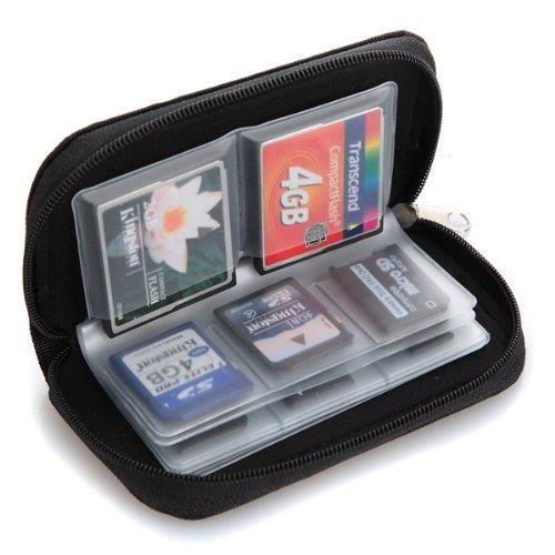 Housse étui pour 22 cartes mémoire micro SD XD