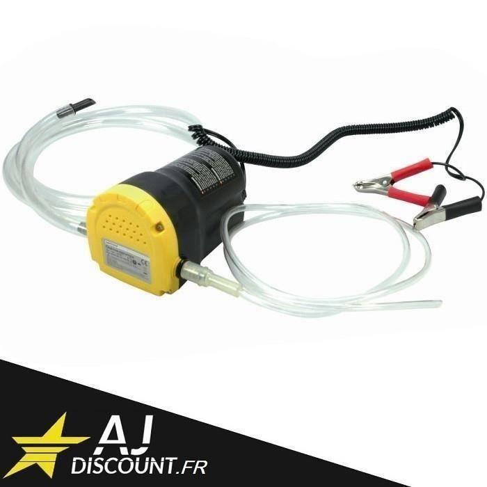 Ywei Pompe de vidange huile moteur par aspiration 12V
