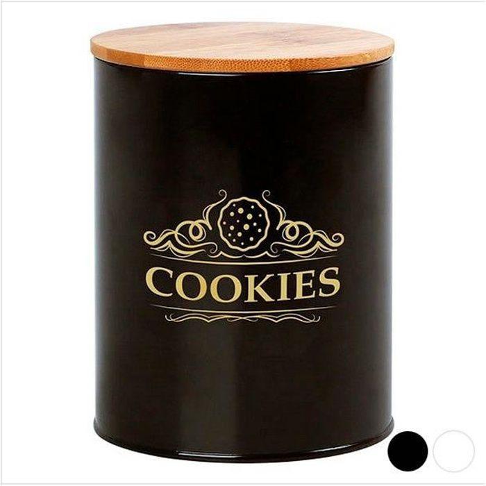 Boîte en métal Cookies 110937 Noir
