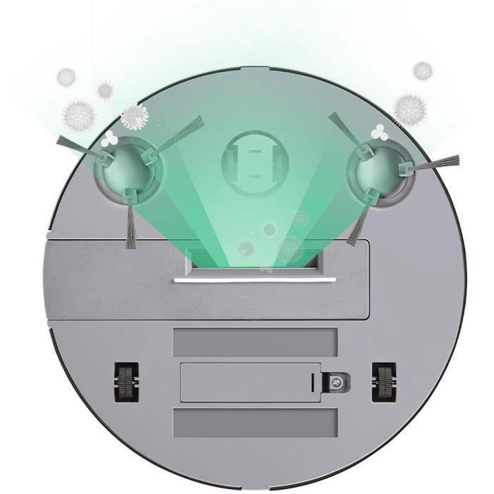 Balai éléctrique chargeant la machine de balayage automatique intelligente de nettoyeur de robot de plancher de ménage-YUN