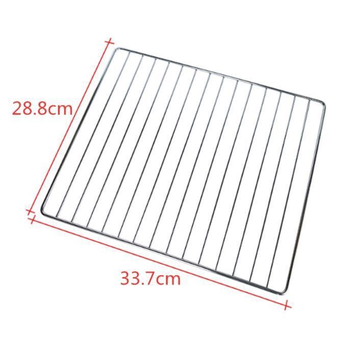 Moules,Bbq mailles acier inoxydable 304 barbecue net barbecue grill maille rectangulaire outil de cuisson avec - Type 33.7x28.8cm