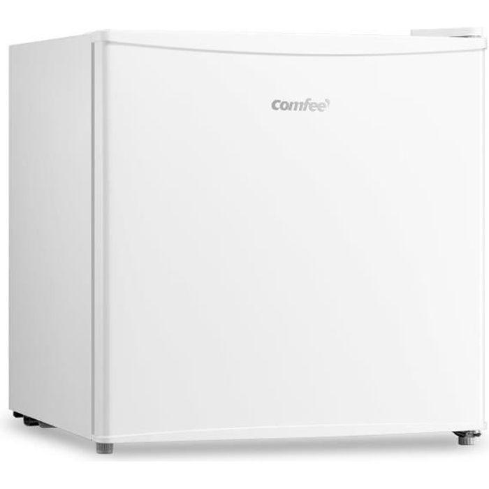 Comfee RCU40WH1(E) Mini Congelateur 32L Porte Réversible Température Réglable,-12-24℃,Blanc-Classe énergétique F