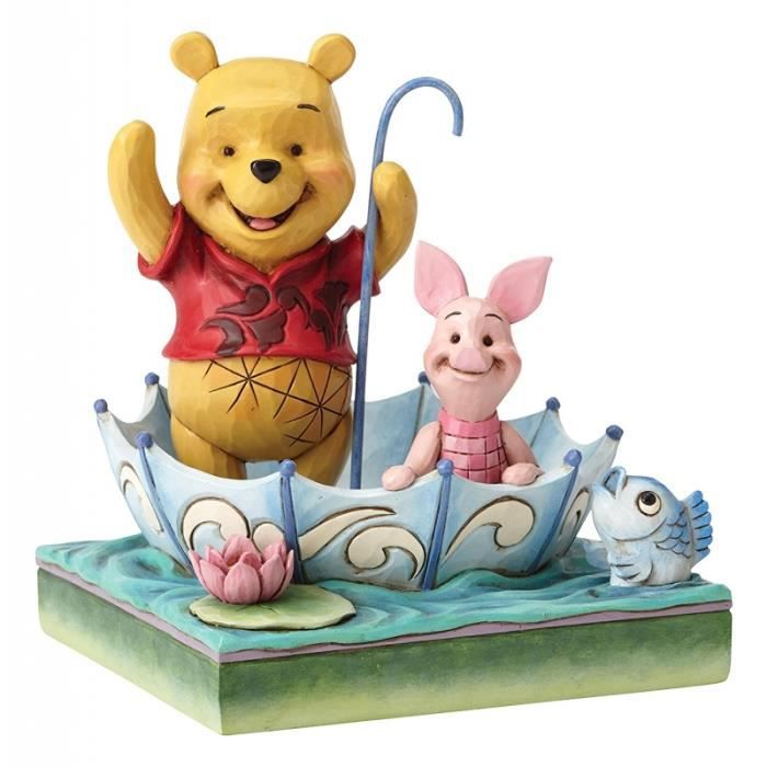 Figurine Winnie et Porcinet 50 ans d'amitié - Disney Traditions Jim Shore