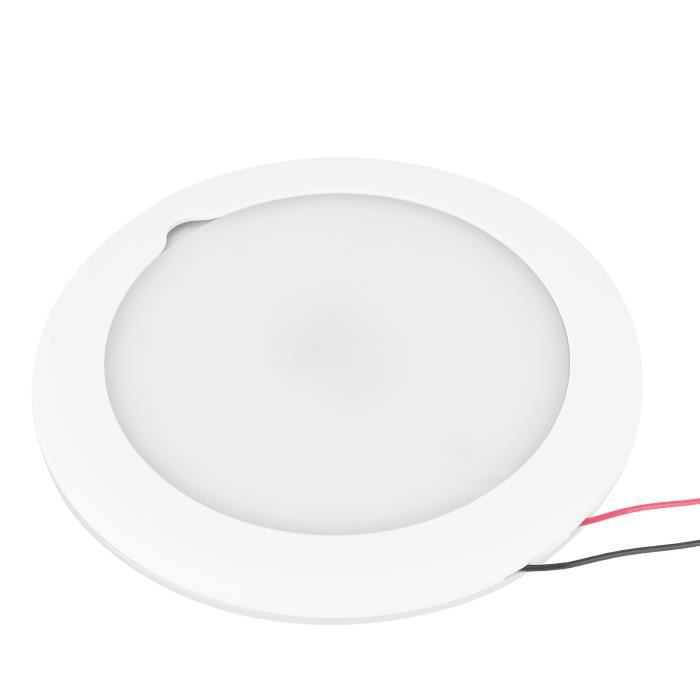 Lumière de toit de bateau Plafonnier de Toit 5,9 po Lampe Intérieure Réglable à Gradation Tactile IP67 Étanche-CHE