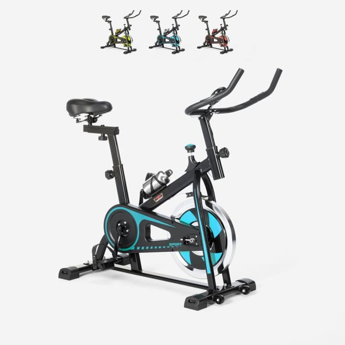 Spin Bike Spinning Fit Bike avec volant professionnel Minerva - couleur:Turquoise