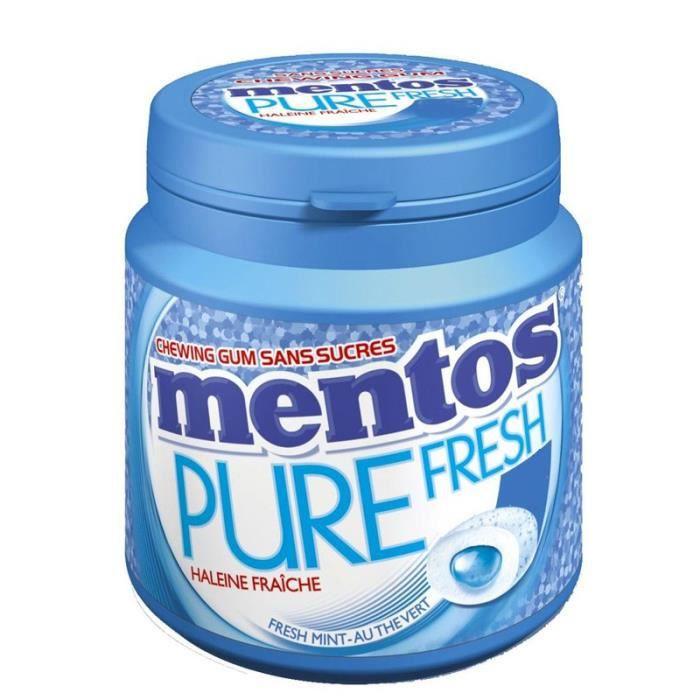 Mentos Pure Fresh Bottle Haleine Fraîche (6 pièces)
