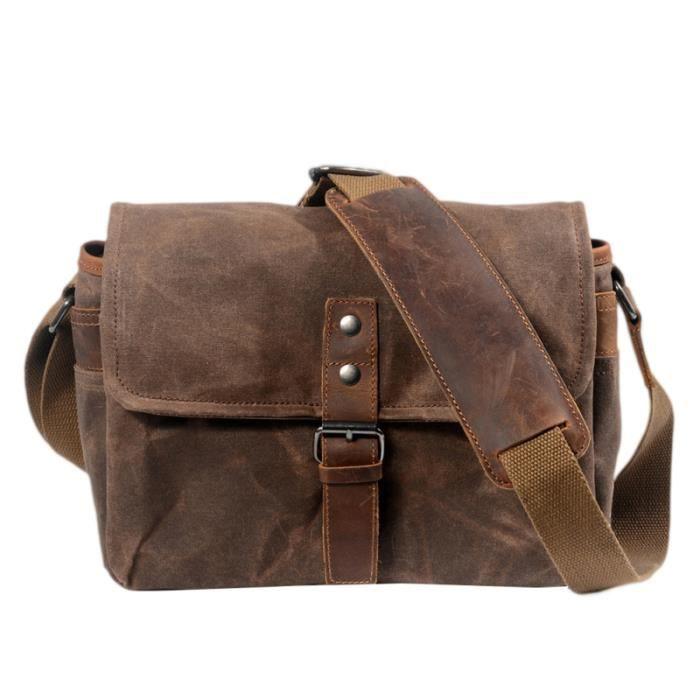 1pc sac pour appareil photo Portable décontracté épaule SLR pour en toile pour pour l'extérieur SAC A DOS - SAC PHOTO - OPTIQUE