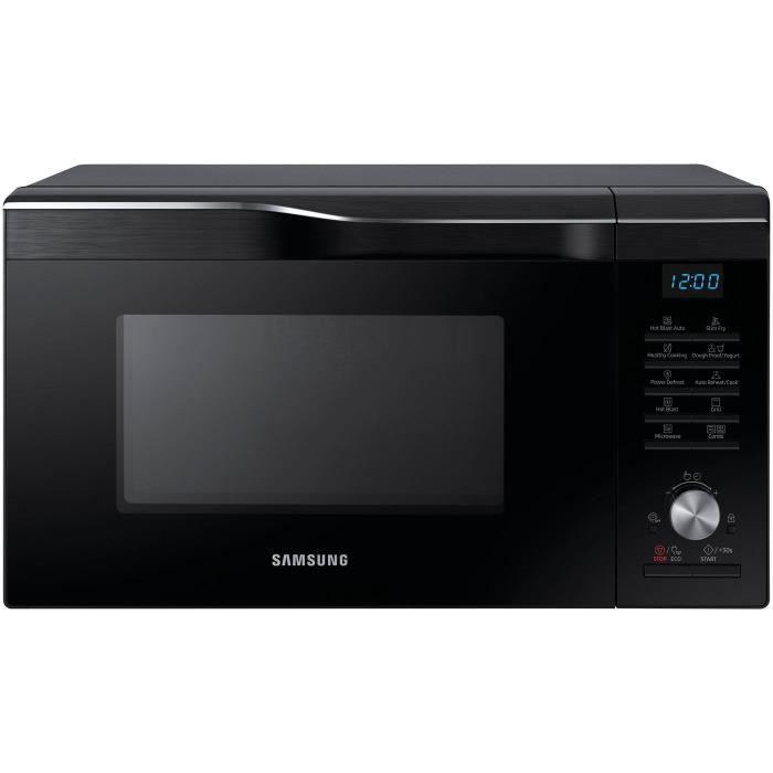 Four micro-ondes combiné - SAMSUNG MC28M6035CK - Noir - L 51,7 x H 31 x P 46,3 cm - 28 L 2100W
