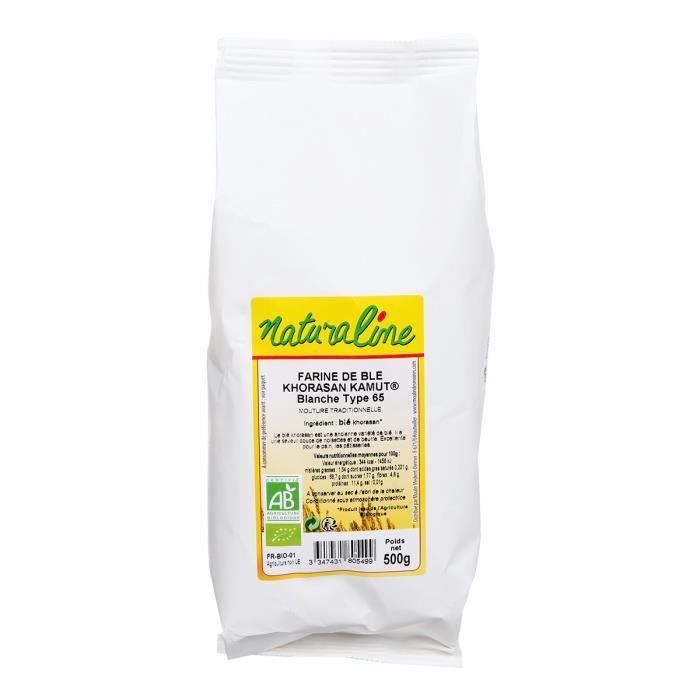 MOULIN DES MOINES Farine de blé Khorasan T 70 bio - 500 g