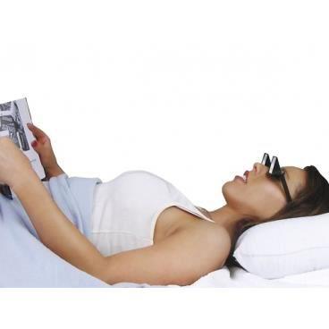Lunettes périscope pour lire ou regarder la télé en étant allongé