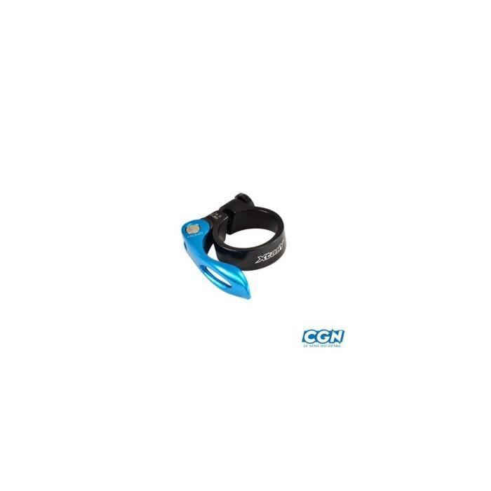 SELLE - TIGE DE SELLE Collier tige de selle vtt/vtc d34.9 mm noir/bleu a