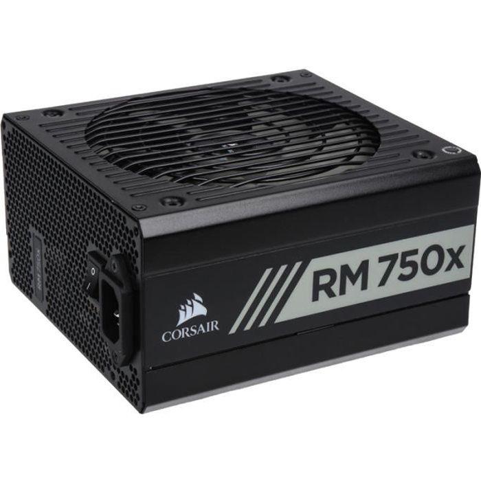 ALIMENTATION INTERNE CORSAIR Alimentation PC RM750x - 750 Watts - Full
