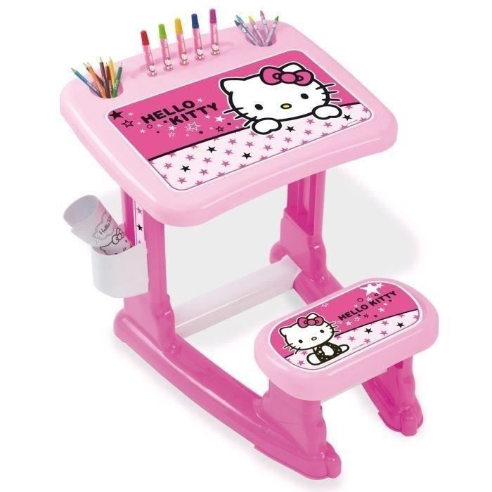 hello kitty bureau d 39 activit s achat vente tableau enfant cdiscount. Black Bedroom Furniture Sets. Home Design Ideas