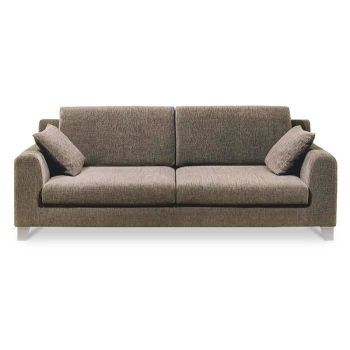 Narela canap 215 cm 3 5 places achat vente canap for Canape tres confortable
