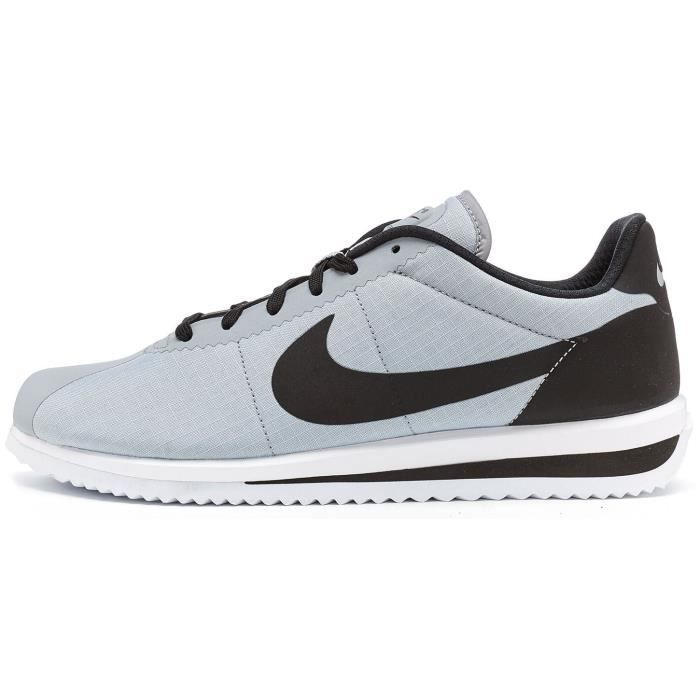 on sale 38dbe 07738 Nike Cortez Ultra Raiders Formateurs Baskets en Wolf Gris   Noir 833142 004   UK 10 EU 45