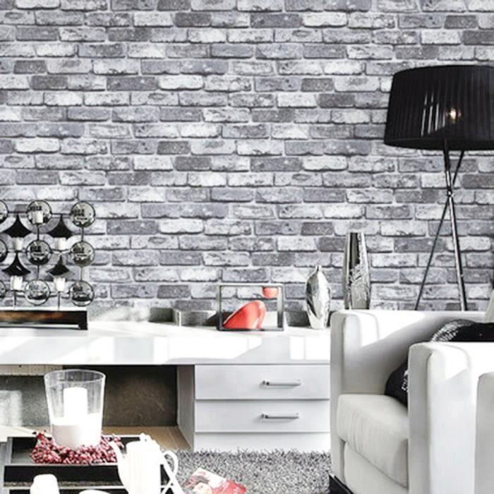 3d Texture Ardoise Mur De Briques Effet Papier Peint Tv Mur