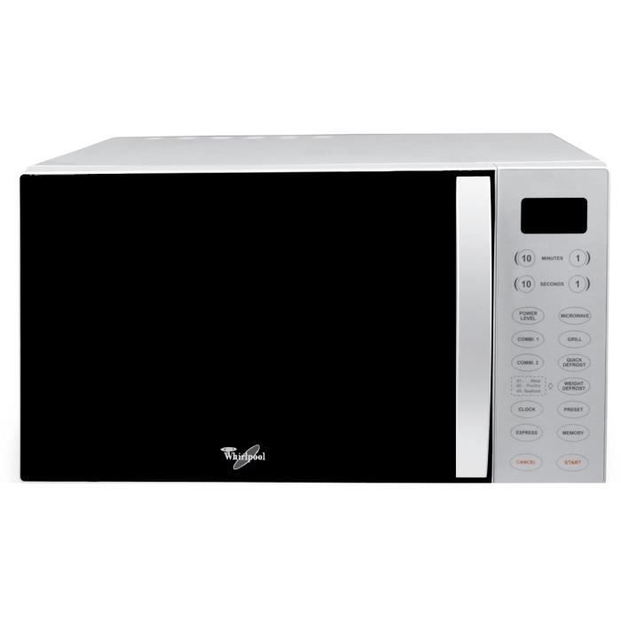 MICRO-ONDES Whirlpool MWO 611 SL, Comptoir, 30 L, 850 W, Touch