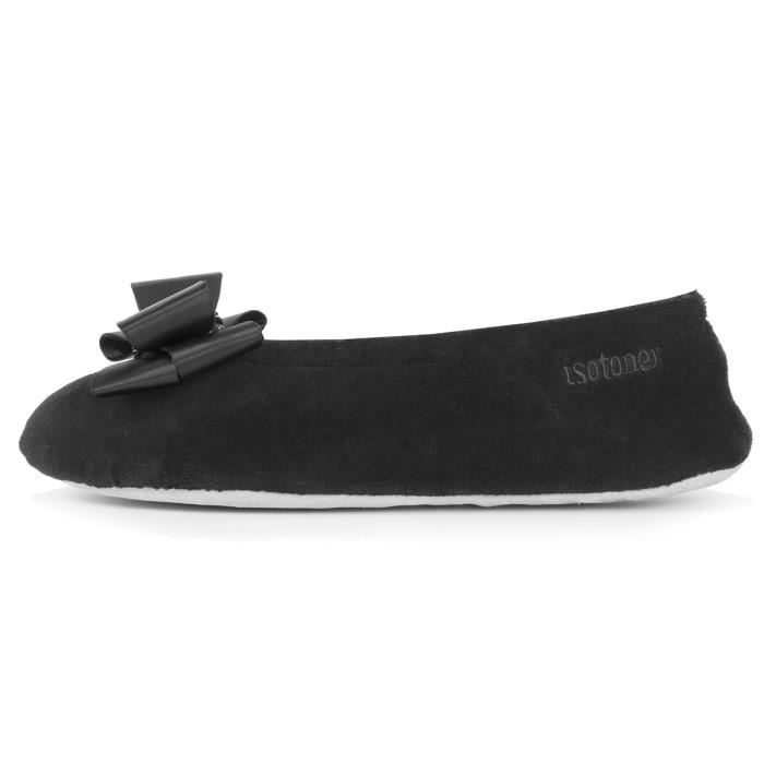 Chaussons ballerines femme