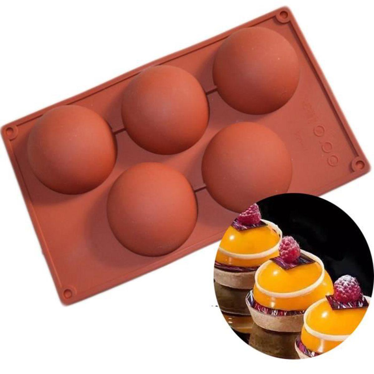 Silicone Noël Chocolat Moule Bac à glaçons Savon gâteau Biscuit moules decor