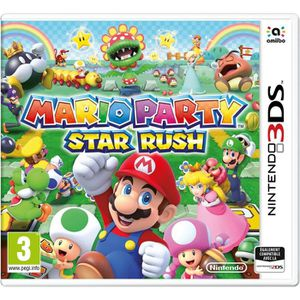 JEU 3DS Mario Party Star Rush Jeu 3DS