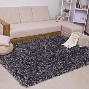 TAPIS Tapis de salon Shaggy en polypropylène - 70x140cm
