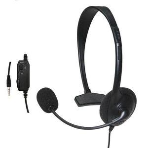 CASQUE RÉALITÉ VIRTUELLE Microphone écouteur casque filaire pour Sony PlayS