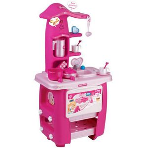 cuisiniere electronique pour enfant barbie achat vente dinette cuisine cdiscount. Black Bedroom Furniture Sets. Home Design Ideas
