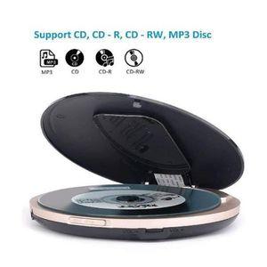BALADEUR CD - CASSETTE Lecteur CD Portable Lecteur écran LCD écouteurs St