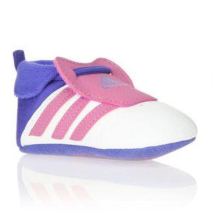 ADIDAS ORIGINALS Baskets Relino Crib Bébé Fille Blanc, rose
