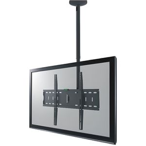 fixation support tv support tv plafond pour cran led 32 70 - Support Tv Plafond Escamotable