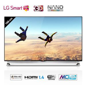 Téléviseur LED LG 65LA970V Smart TV Ultra HD 3D 165 cm