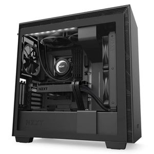 BOITIER PC  NZXT H710i Noir - Boîtier moyen tour avec fenêtre