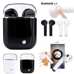 CASQUE - ÉCOUTEURS I7S TWS Écouteur Bluetooth 5,0 Contrôle tactile po