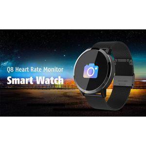 VITRE MONTRE CONNECTÉE Q8 Smart Watch-Montre Connectée-Montre intelligent