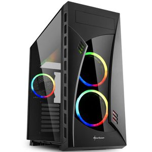 UNITÉ CENTRALE  PC Gamer, AMD Ryzen 7, RTX 2080, 1 To SSD, 3 To HD