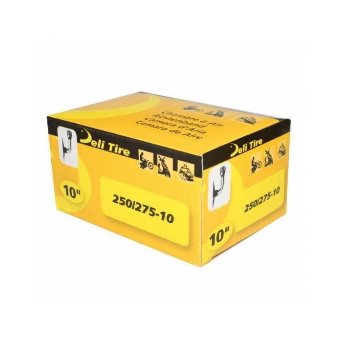 Chambre a air 10'' 2.50 a 2.75-10 deli valve coudee 90°