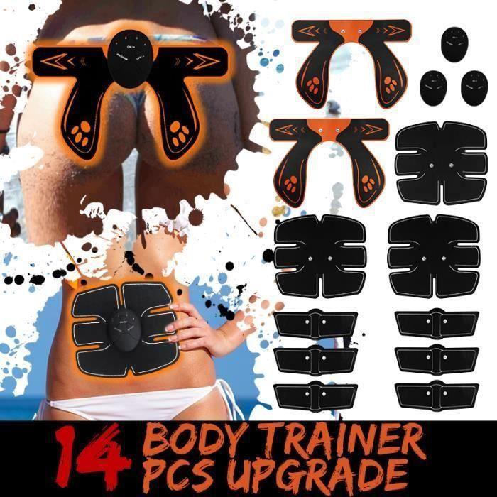 30 PCS ENSEMBLE DE MUSCULATION ABDO BRAS FESSIERS Pr23851
