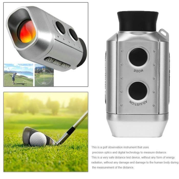 Télescope optique numérique Golf 7x930 yards télémètre chasse Golf Distance mètre Laser Distance mètre télémèt*TR6911