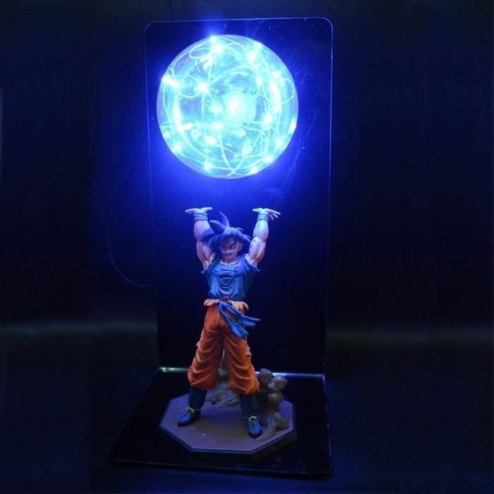 Lumi&egravere LED Dragon Ball Z Lumi&egravere Goku Power Bomb Creative Lampe De Table Lumi&egravere D&eacutecorative DBZ LED Vei