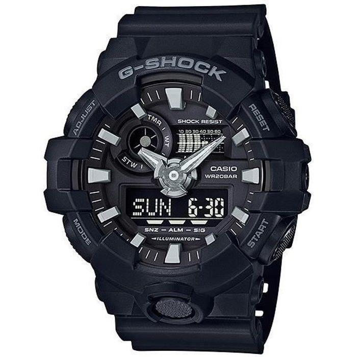 CASIO Montre Quartz G-Shock GA-700-1BER Homme