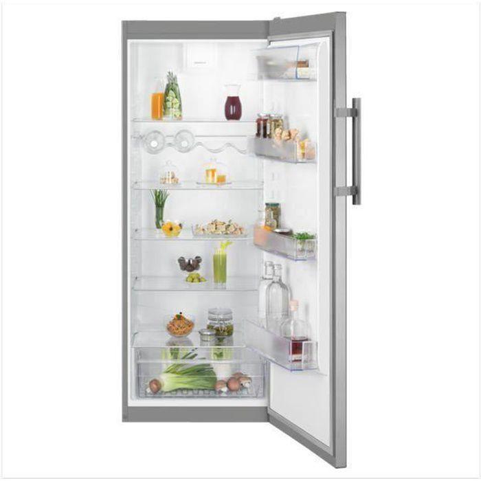 ELECTROLUX LRB1DF32X - Réfrigérateur 1 porte - 314L - Froid brassé - L60cm x H 155cm - Inox