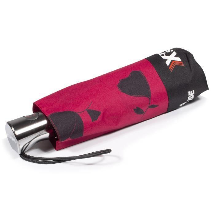 Isotoner Parapluie femme x-tra solide automatique ginko fleurs