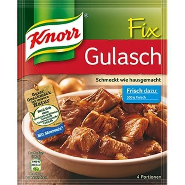 Knorr Fix poudre de goulash 5 x 51g