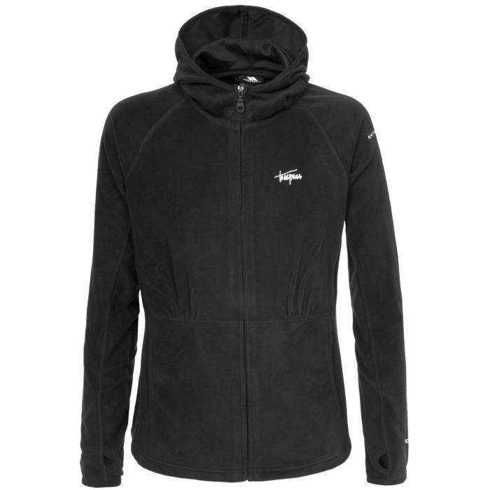 Trespass Marathon - Veste polaire à capuche et fermeture zippée - Femme