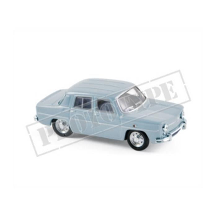 Véhicule Miniature assemble - Renault 8 Bleu 1963 1-87 Norev
