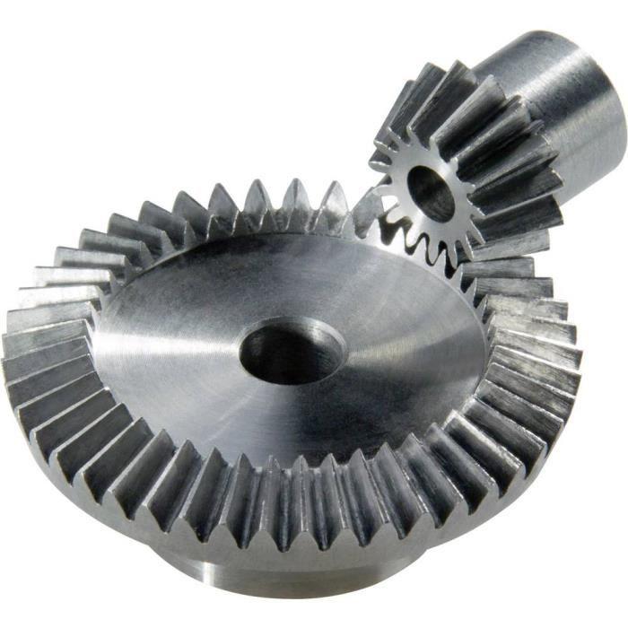 Roue conique en acier Reely Type de module: 0.5 Nombre de dents: 20, 40 1 paire