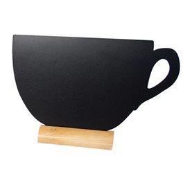 Ardoise Tasse + 1 feutre blanc