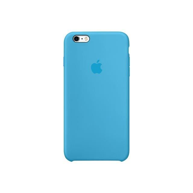 apple coque en silicone iphone 6s bleu coque e achat. Black Bedroom Furniture Sets. Home Design Ideas
